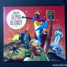 CDs de Música: ALPHA BLONDY - BEST OF ALPHA BLONDY - DOBLE CD 2XCD - TEST (NUEVO / PRECINTADO). Lote 268590114