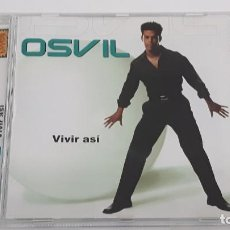 CDs de Música: CD OSVIL - VIVIR ASÍ - COMO NUEVO. Lote 297125533