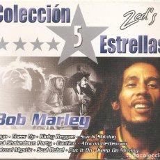 CDs de Música: BOB MARLEY - COLECCION 5 ESTRELLAS (CAJA CON 2 CD'S, VER FOTOS, OK RECORDS 2004). Lote 268604349