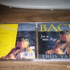 CDs de Música: THIJS VAN LEER (FOCUS) - BACH. FOR A NEW AGE. Lote 268618209