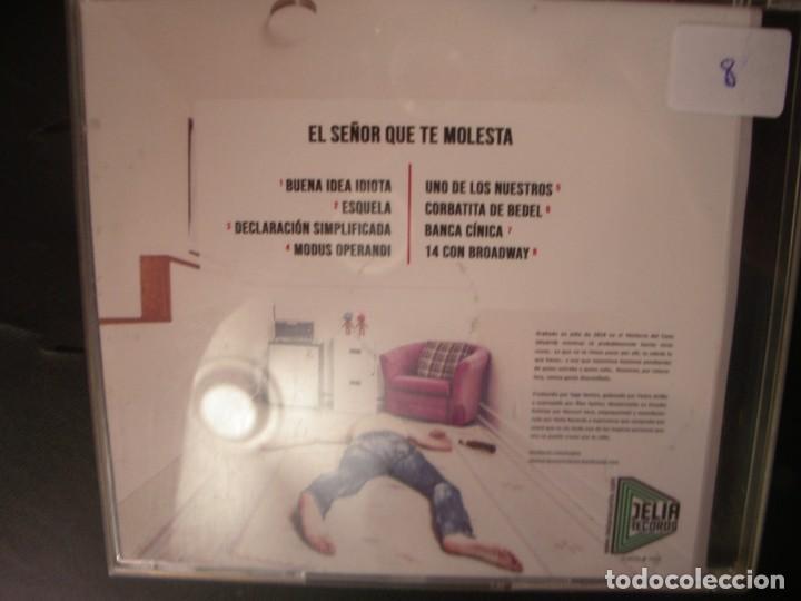 CDs de Música: EL SEÑOR QUE TE MOLESTA- BUENA IDEA IDIOTA.CD. - Foto 2 - 268718354