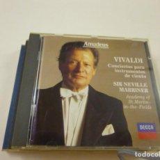 CD di Musica: CD VIVALDI NEVILLE MARRINER- CD - C 7.. Lote 268730269