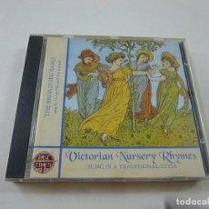 CDs de Música: THE BROADSIDE BAND – VICTORIAN NURSERY RHYMES -CD - C 7. Lote 268732814