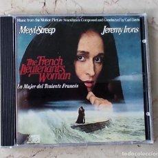 CDs de Música: LA MUJER DEL TENIENTE FRANCES - BSO - CARL DAVIS. Lote 268739929