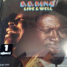 CDs de Música: B.B. KING LIVE AND WELL. Lote 268740784