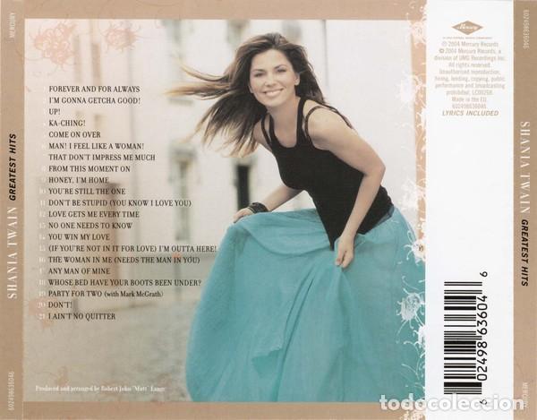 CDs de Música: Shania Twain - Greatest Hits - Foto 2 - 268741799