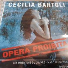 CDs de Música: CECILIA BARTOLI PPERA PROIBITA PRECINTADO. Lote 268742604