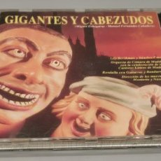 CDs de Música: GIGANTES Y CABEZUDOS ZAFIRO. Lote 268751814