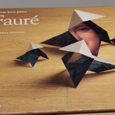 CDs de Música: FAURÉ OBRAS PARA PIANO ESTEBAN SÁNCHEZ EL PAÍS Nº 42 DIVERDI. Lote 268752649
