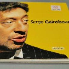 CDs de Música: CD SERGE GAINSBOURG VOL.3 1999. Lote 268753579