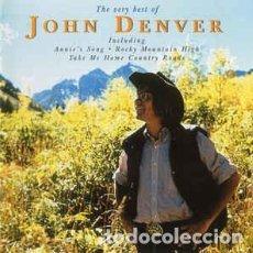 CDs de Música: JOHN DENVER - THE VERY BEST OF JOHN DENVER. Lote 268754264