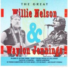 CDs de Música: THE GREAT WILLIE NELSON & WAYLON JENNIGS. Lote 268755929
