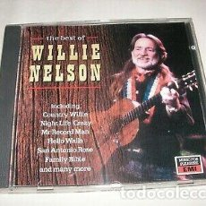 CDs de Música: WILLIE NELSON - THE BEST OF. Lote 268756639