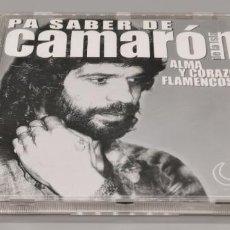 CDs de Música: CD CAMARON DE LA ISLA : PA SABER DE CAMARON ( ALMA Y CORAZON FLAMENCOS). Lote 268756819