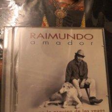 CDs de Música: RAIMUNDO AMADOR – EN LA ESQUINA DE LAS VEGAS CD BLUES ROCK, FLAMENCO. Lote 268784349