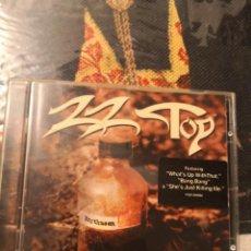 CDs de Música: CD ZZ TOP RHYTHMEEN. Lote 268784429