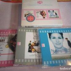CDs de Música: 3 BANDAS SONORAS / 3 CD.S - 4 BODAS Y UN FUNERAL, EL DIARIO DE BRIDGET JONES, NOTTING HILL. Lote 268797284