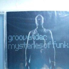 CDs de Música: GROOVERIDER - MYSTERIES OF FUNK CD DRUM & BASS. Lote 268819104