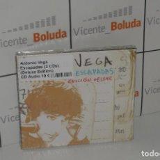 CDs de Música: ANTONIO VEGA - ESCAPADAS (DELUXE EDITION 2 CDS) NUEVO Y PRECINTADO ENVIÓ CERTIFICADO A ESPAÑA 2 €. Lote 268796254