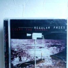 CDs de Música: REGULAR FRIES - ACCEPT THE SIGNALS CD TRIP HOP. Lote 268827379