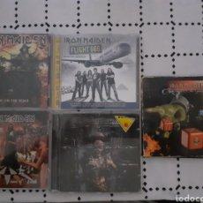 CDs de Música: LOTE CDS IRON MAIDEN 4 ALBUMS Y 1 EP. Lote 268879219