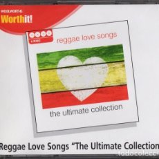 CDs de Música: VARIOUS - REGGAE LOVE SONGS - THE ULTIMATE COLLECTION (4XCD, COMP). Lote 268879324