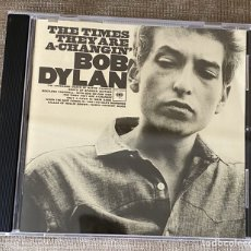 """CD de Música: """"THE TIMES THEY ARE A-CHANGING'""""-BOB DYLAN. Lote 268886174"""