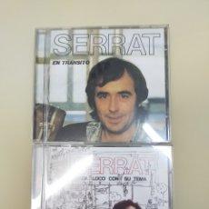 CDs de Música: J.M.SERRAT EN TRÁNSITO+CADA LOCO CON SU TEMA. Lote 268904519