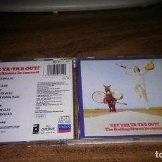 CDs de Música: THE ROLLING STONES - GET YER YA-YA'S OUT (UNO DE LOS MEJORES DIRECTOS DEL GRUPO). Lote 268913724