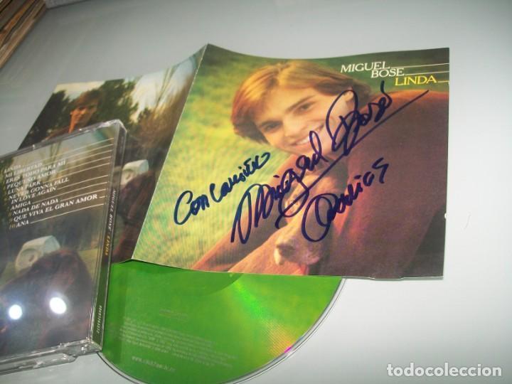 MIGUEL BOSE - LINDA ..SU PRIMER DISCO .. FIRMADO , BUEN ESTADO - CON LETRAS (Música - CD's Melódica )