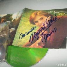 CDs de Música: MIGUEL BOSE - LINDA ..SU PRIMER DISCO .. FIRMADO , BUEN ESTADO - CON LETRAS. Lote 268924739