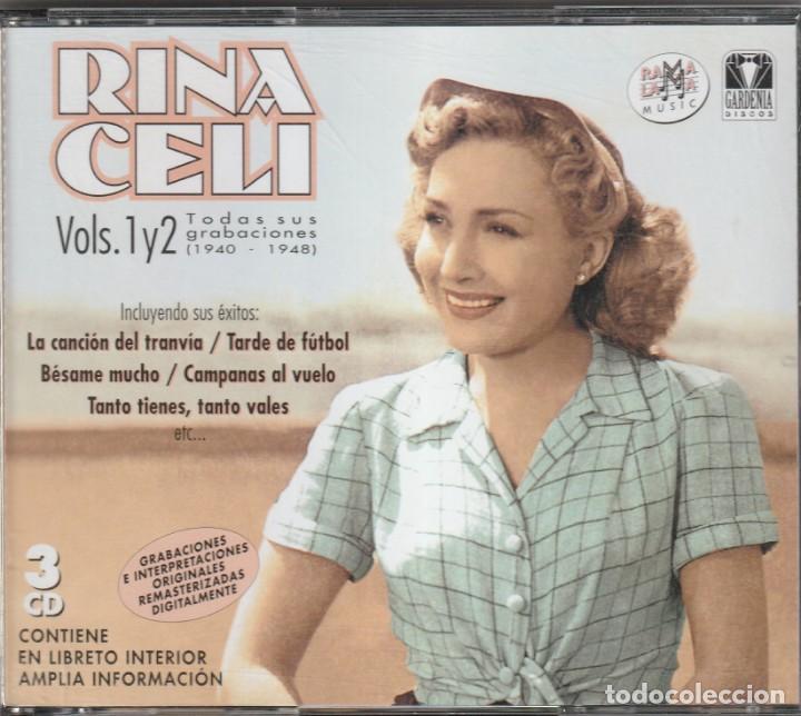 RINA CELLI - TODAS SUS GRABACIONES 1940-1948 (3XCD RAMA LAMA 2004) (Música - CD's Pop)