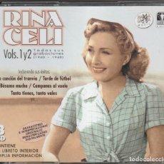 CDs de Música: RINA CELLI - TODAS SUS GRABACIONES 1940-1948 (3XCD RAMA LAMA 2004). Lote 268926134