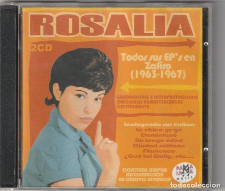 ROSALIA - TODOS SUS EP'S EN ZAFIRO 163-167 (2XCD RAMA LAMA 2004) (Música - CD's Pop)