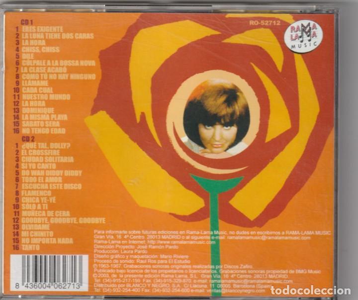 CDs de Música: ROSALIA - TODOS SUS EPS EN ZAFIRO 163-167 (2xCD RAMA LAMA 2004) - Foto 2 - 268926499