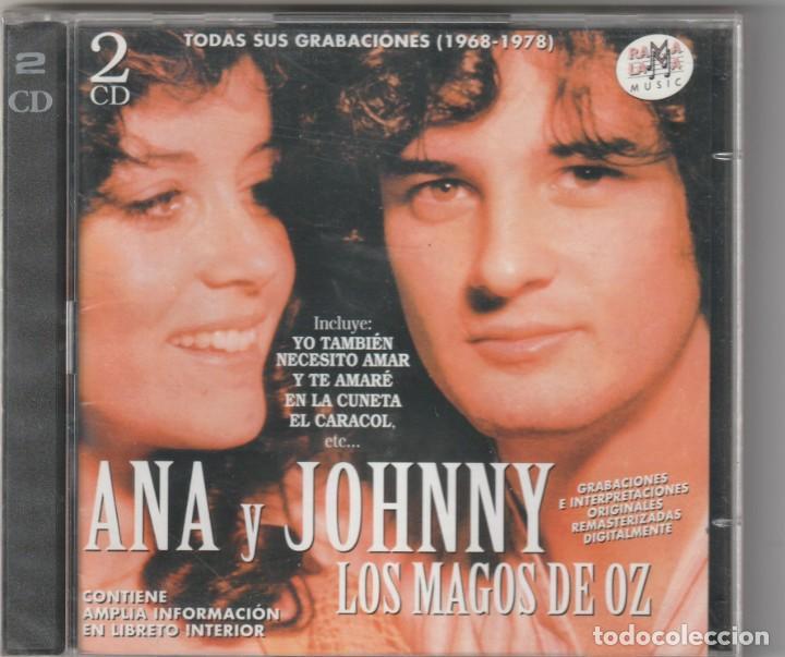 ANA Y JOHNNY · LOS MAGOS DE OZ - TODAS SUS GRABACIONES 1968-78 (2XCD RAMA LAMA 1999) PRECINTADO (Música - CD's Pop)