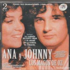 CDs de Música: ANA Y JOHNNY · LOS MAGOS DE OZ - TODAS SUS GRABACIONES 1968-78 (2XCD RAMA LAMA 1999) PRECINTADO. Lote 268926684