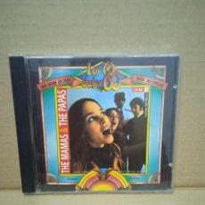 CDs de Música: T'HE PAPAS & T'HE MAMAS. LOS 60 DE LOS 60.. Lote 268927394