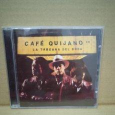 CDs de Música: CAFÉ QUIJANO. LA TABERNA DEL BUDA.. Lote 268927534
