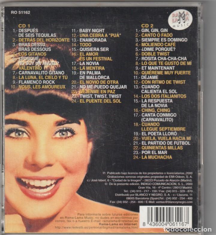 CDs de Música: GELU - TODOS SUS PRIMEROS EPS EN LA VOZ DE SU AMO 1960-63 (2xCD RAMA LAMA 2000) - Foto 2 - 268927874