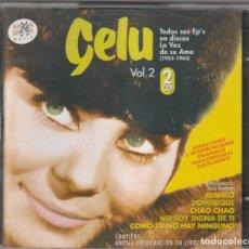 CDs de Música: GELU - TODOS SUS EP'S EN LA VOZ DE SU AMO 1963-65, VOL.2 (2XCD RAMA LAMA 2001). Lote 268927984