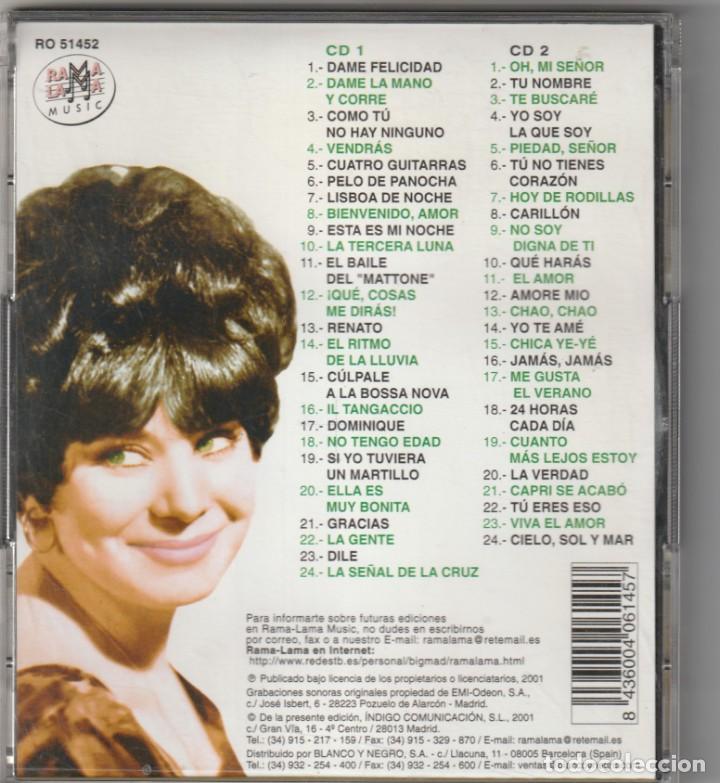 CDs de Música: GELU - TODOS SUS EPS EN LA VOZ DE SU AMO 1963-65, VOL.2 (2xCD RAMA LAMA 2001) - Foto 2 - 268927984