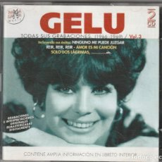 CDs de Música: GELU - TODAS SUS GRABACIONES 1966-69, VOL.3 (2XCD RAMA LAMA 2002). Lote 268928169