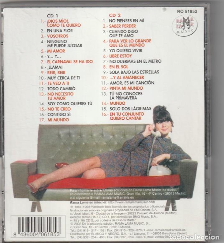 CDs de Música: GELU - TODAS SUS GRABACIONES 1966-69, VOL.3 (2xCD RAMA LAMA 2002) - Foto 2 - 268928169