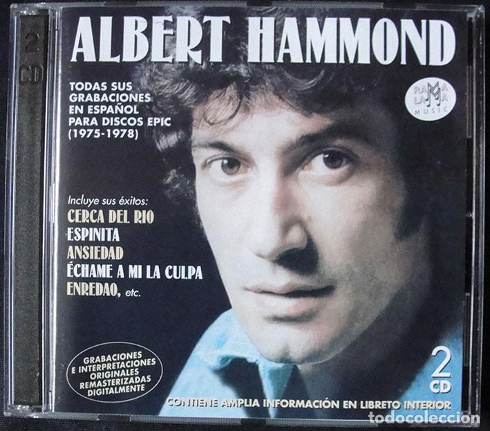ALBERT HAMMOND 2CD - TODAS SUS GRABACIONES EN ESPAÑOL PARA DISCOS EPIC (1975-1978) (Música - CD's Pop)