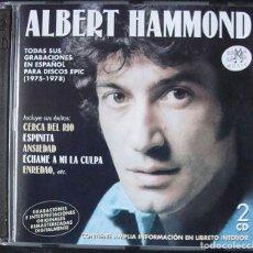 CDs de Música: ALBERT HAMMOND 2CD - TODAS SUS GRABACIONES EN ESPAÑOL PARA DISCOS EPIC (1975-1978). Lote 268930904