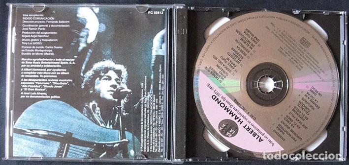 CDs de Música: ALBERT HAMMOND 2CD - TODAS SUS GRABACIONES EN ESPAÑOL PARA DISCOS EPIC (1975-1978) - Foto 2 - 268930904