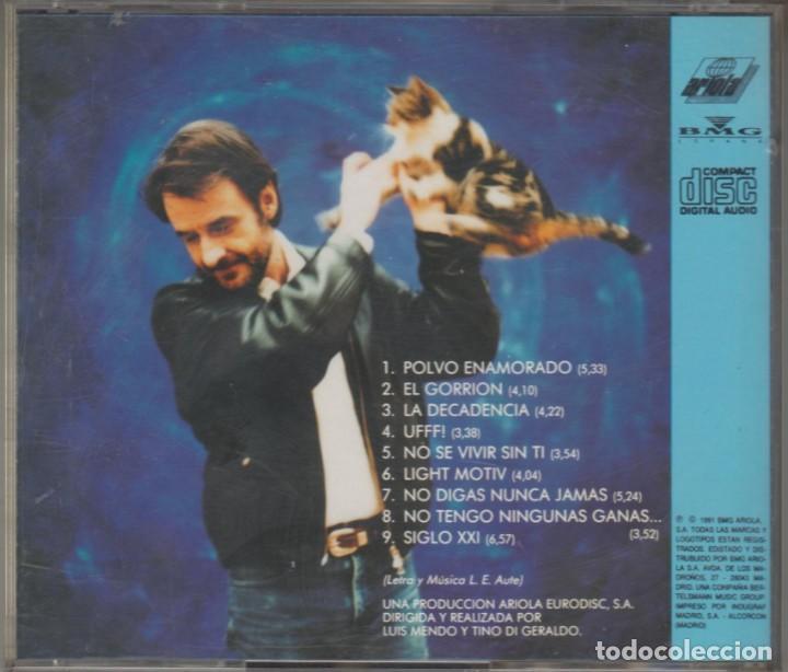 CDs de Música: Luis Eduardo Aute cd Ufff! 1991 - Foto 2 - 268954434