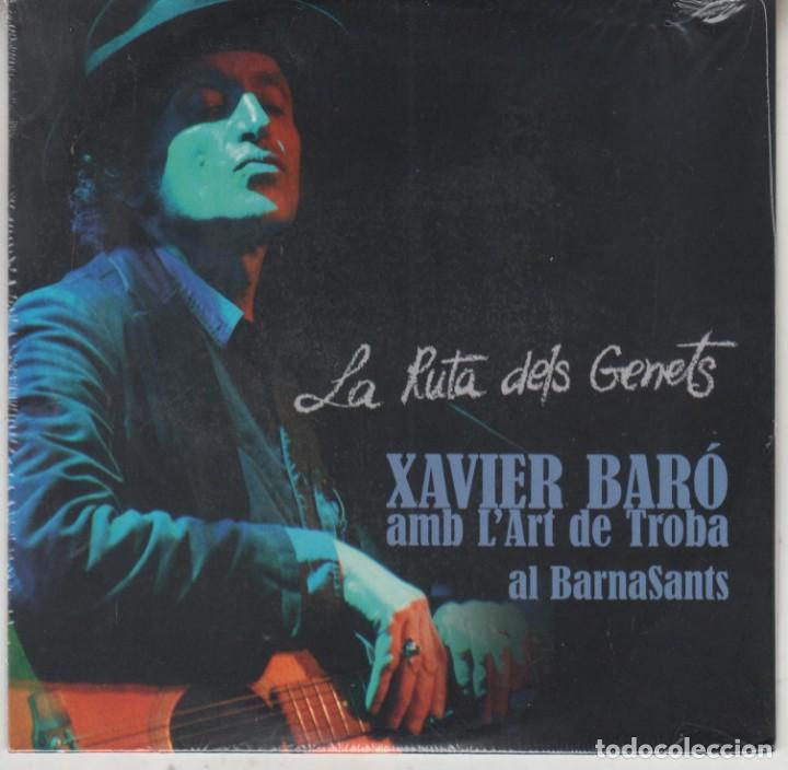 XAVIER BARÓ AMB L'ART DE LA TROBA AL BARNASANTS CD LA RUTA DELS GENETS 2013 (PRECINTADO) (Música - CD's Otros Estilos)