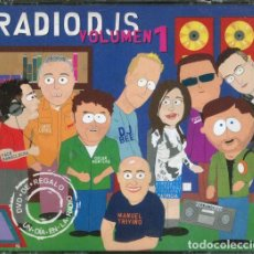 CDs de Música: CD RADIO DJS VOLUME 1 CON 2 CDS + DVD PRECINTADO AQUITIENESLOQUEBUSCA ALMERIA. Lote 268973564